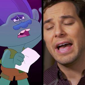 Trolls The Beat Goes On Meet New Actors Voicing Poppy And Branch For Netflix Series