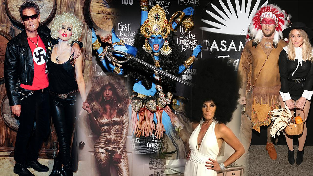 the most controversial celebrity halloween costumes: kim kardashian