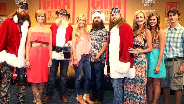 Duck Dynasty' Family to Release Christmas Album   Entertainment ...