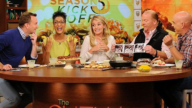 The Chew the chew' host daphne oz announces pregnancy | entertainment tonight
