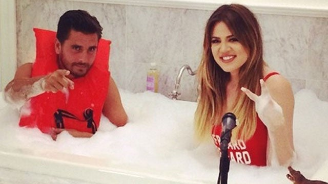 This Photo Of Khloe Kardashian And Scott Disick In A