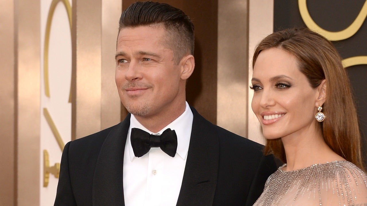 See Angelina Jolies Wedding Dress Entertainment Tonight