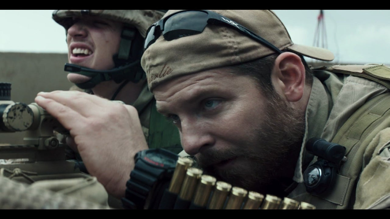 First Look Bradley Cooper S Vow To An American Sniper