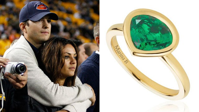mila kunis designs beautiful ring with baby wyatt in mind