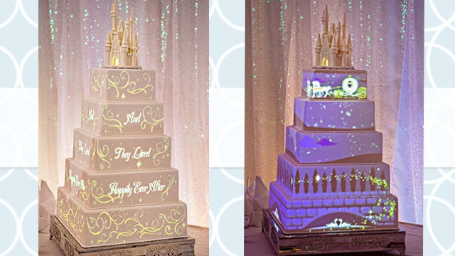 This Disney Wedding Cake Is The Most Insane Thing We Ve Ever Seen Entertainment Tonight