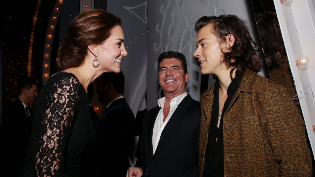Kate Middleton And Prince William Meet And Greet One Direction