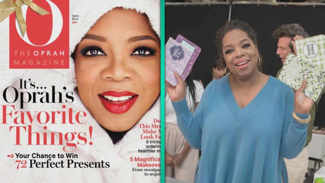 An Inside Look At Oprah 39 S Favorite Things For 2014