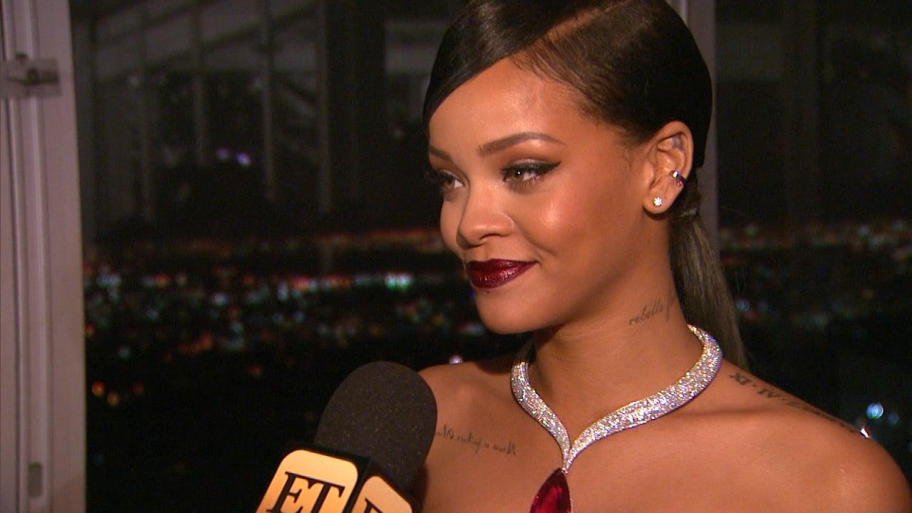 Rihanna Talks Diamond Ball And Brad Pitt I Cant Tell You How