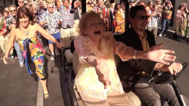 betty white gets the sweetest surprise birthday flash mob