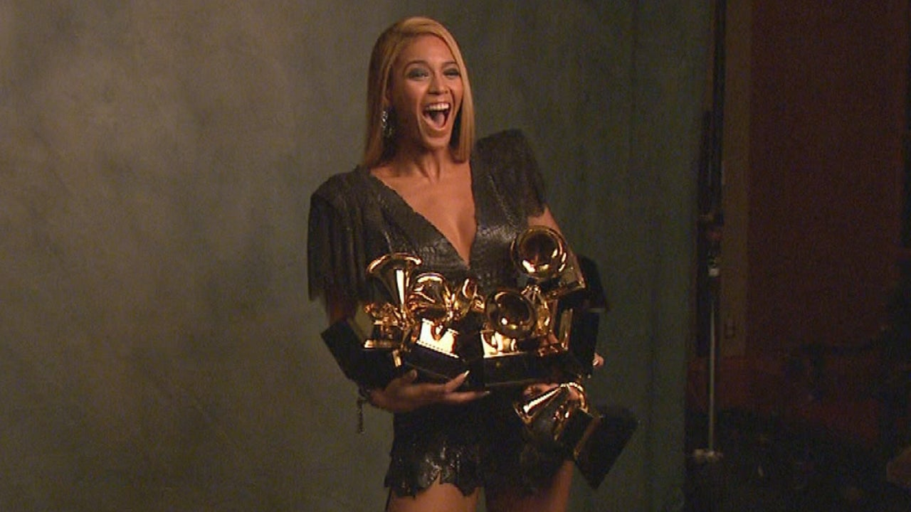Beyonce S Road To The 2015 Grammys Entertainment Tonight