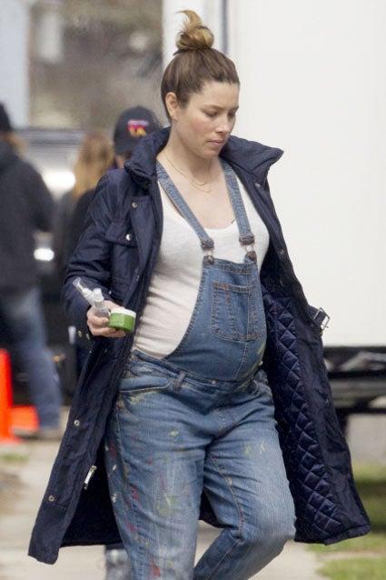 Jessica Biel's Baby Bu... Jessica Biel Baby