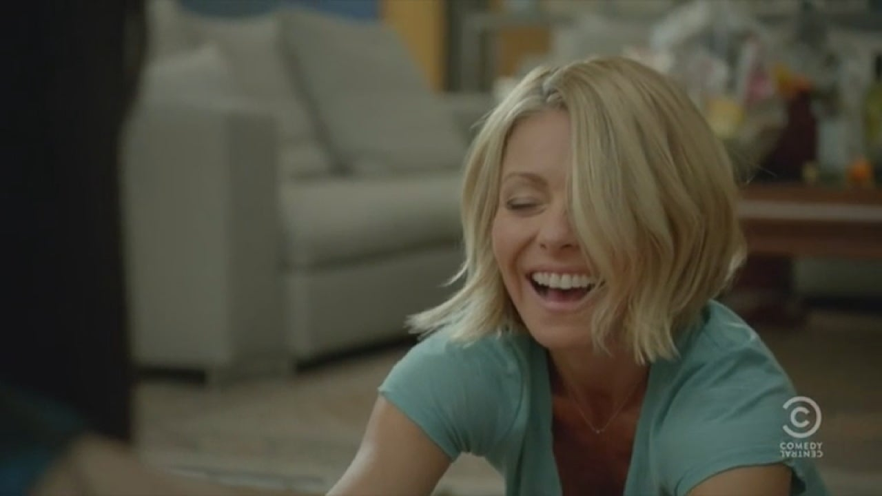 Kelly Ripa Gets Drunk And High In Totally Unexpected