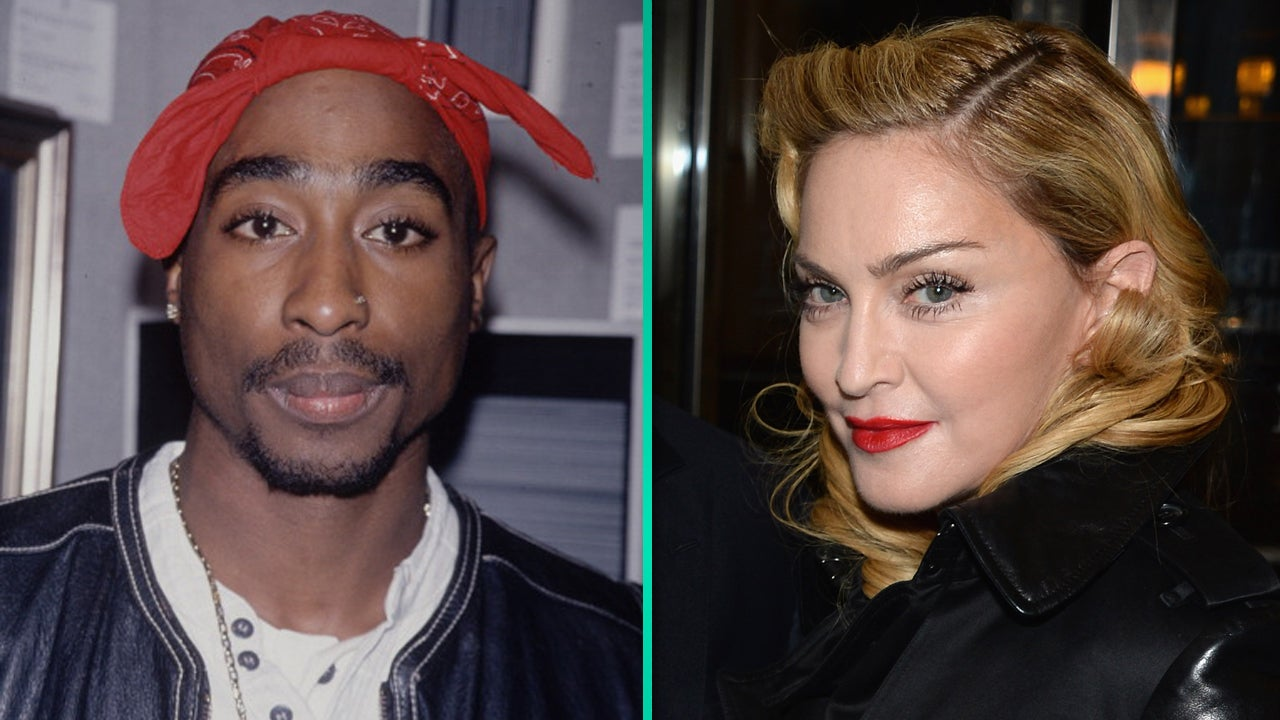 Madonna dating 2pac