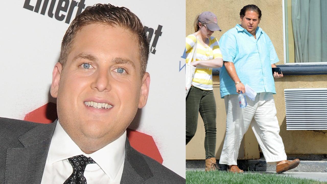 Trending Jonah Hill Lands Displays Shocking Weight Gain  Set