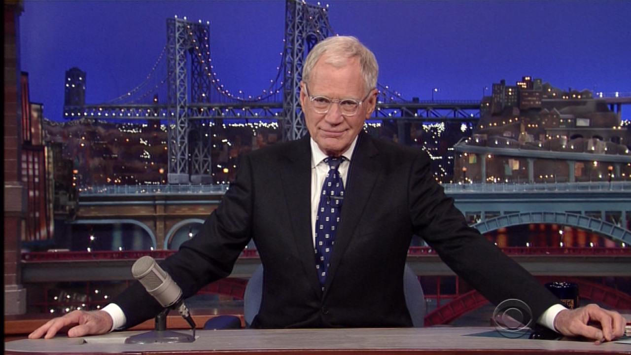 David Letterman S Heartfelt Late Show Sign Off Thank You And Good Night Entertainment Tonight