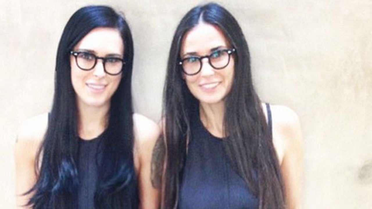 Demi Moore and Rumer W...