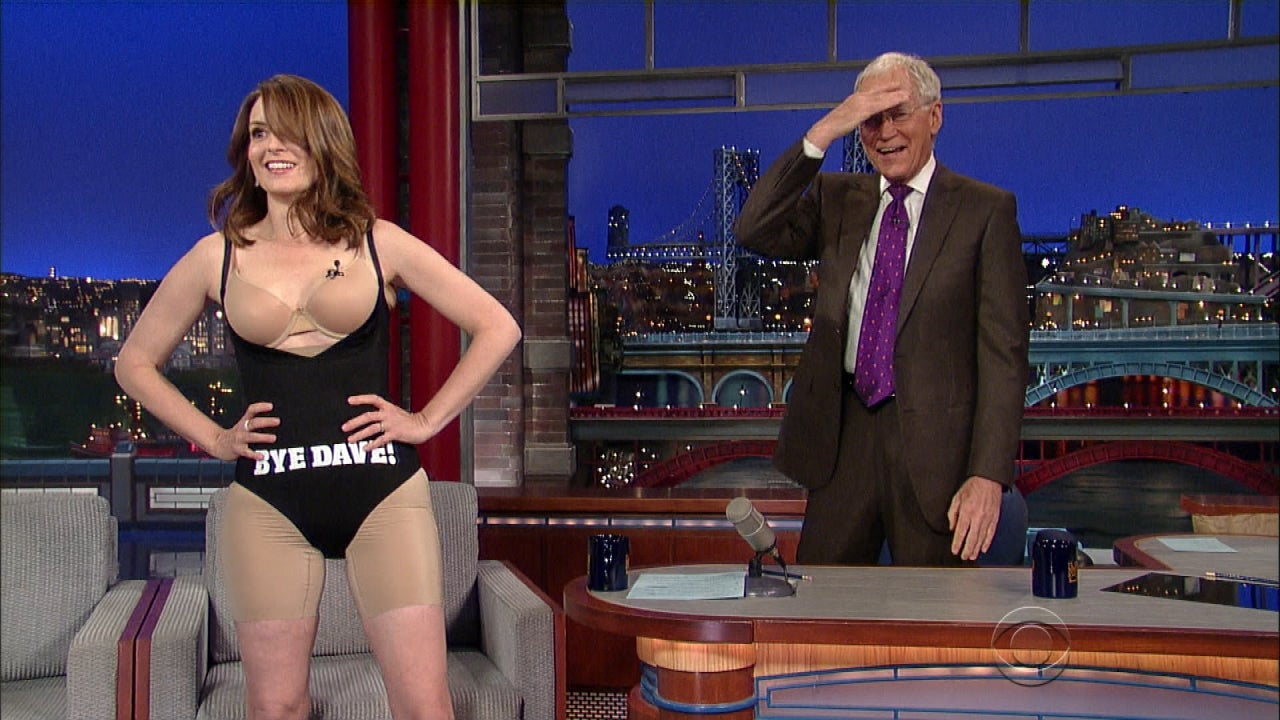 Tina Fey Strips Down To Her Spanx In Honor Of David