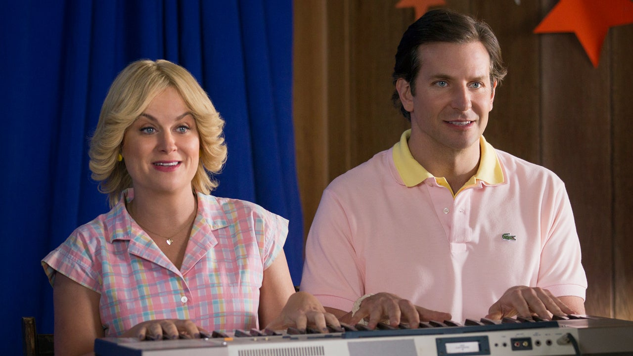 Amy Poehler and Bradley Cooper Get Back into Character for