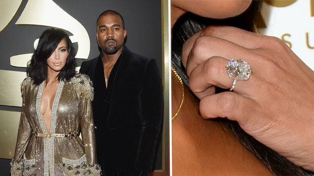 Kim Kardashian Wedding Ring Kanye Price