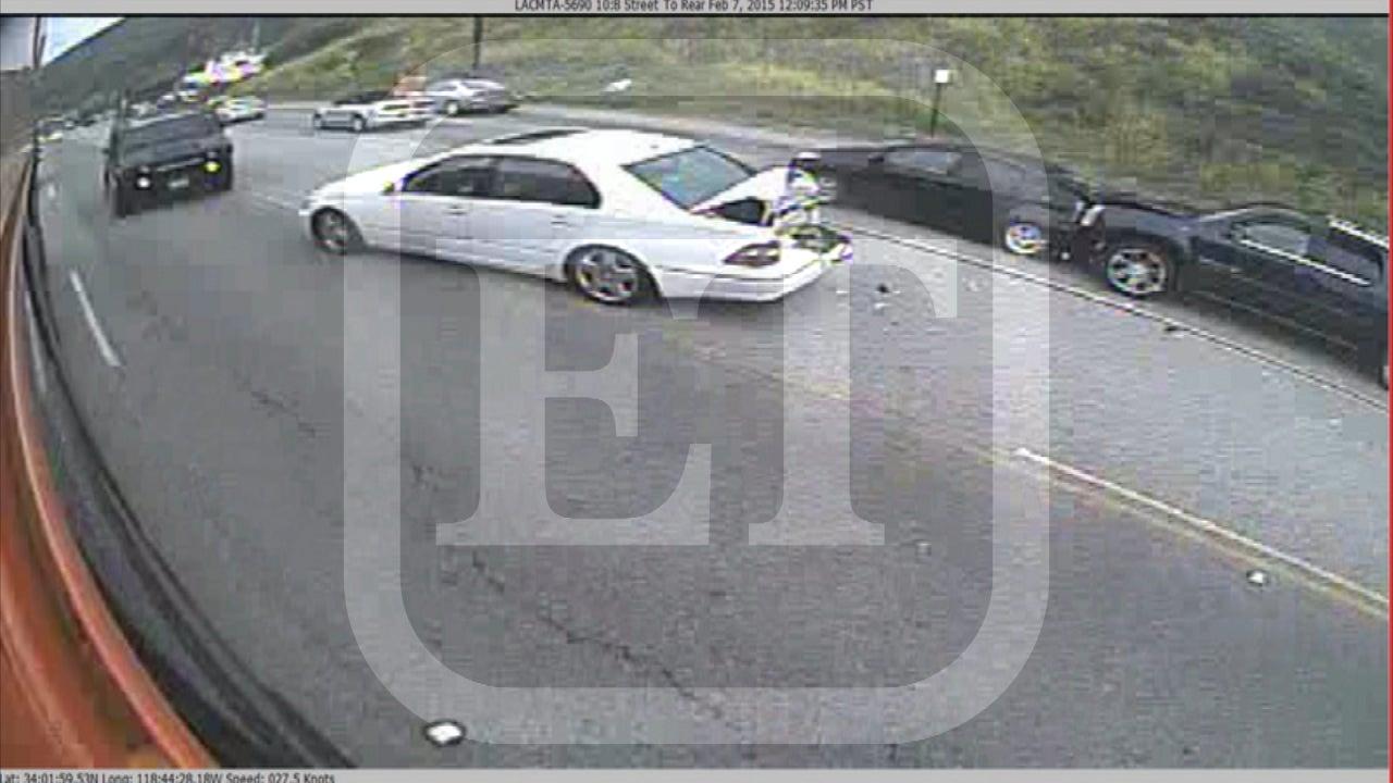 EXCLUSIVE: Surveillance Video Shows Caitlyn Jenner Fatal Car Crash ...