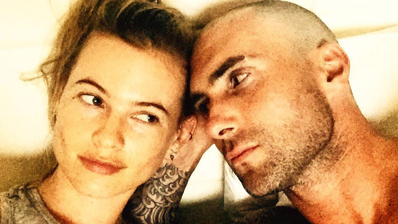 Adam Levine Shaves His Head See The Selfie Entertainment Tonight