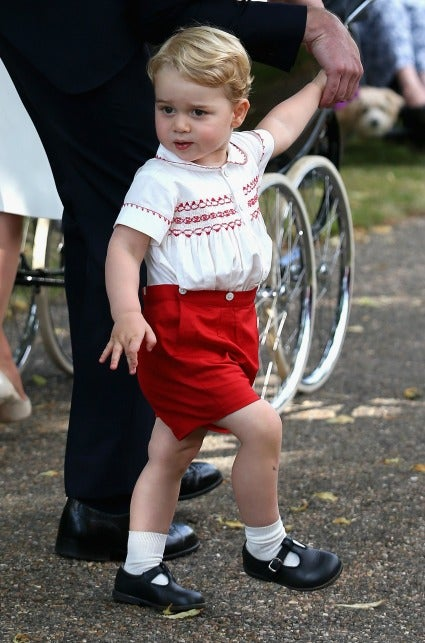 Prince George Was An Adorably Fussy Sad Little Monarch At