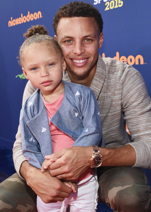 riley curry was obviously the best part of nickelodeon u0026 39 s