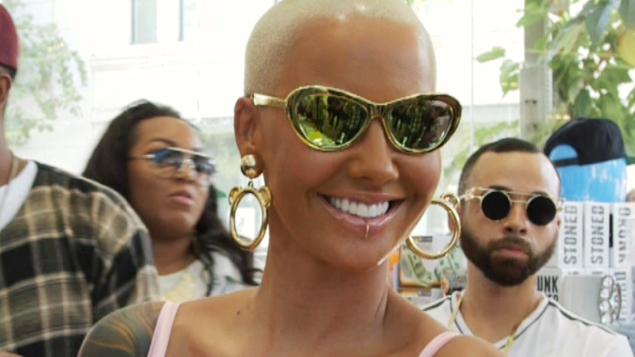 6677ed5446 EXCLUSIVE  Amber Rose Sets the Record Straight on Partying With Kardashians