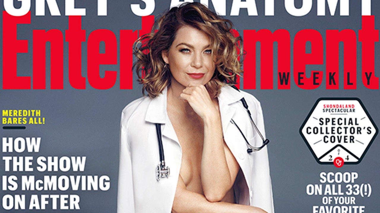 Greys Anatomy Star Ellen Pompeo Goes Nude See Her Sexy New Cover