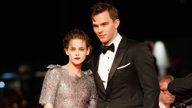 Nicholas Hoult with his rumored girlfriend Kristen Stewart