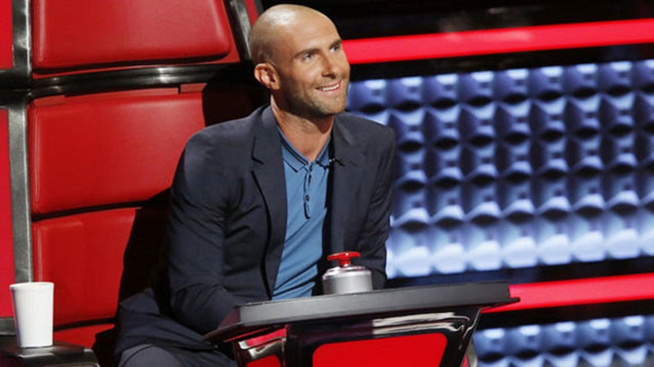 Adam Levines Bald Look Made Its Debut On The Voice And Inspired