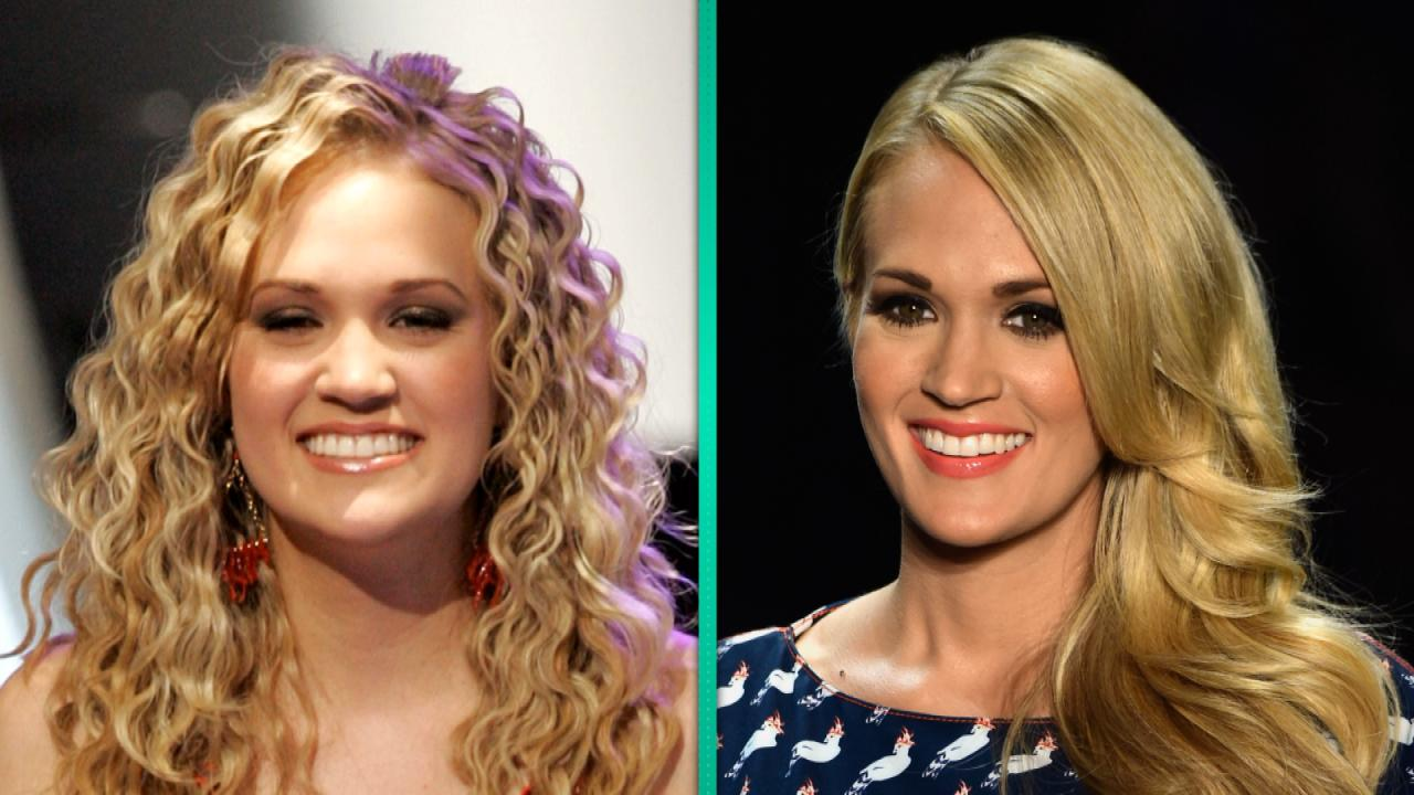 4b62e33d175 Carrie Underwood Then and Now: See the Sweet Moment She Won ...