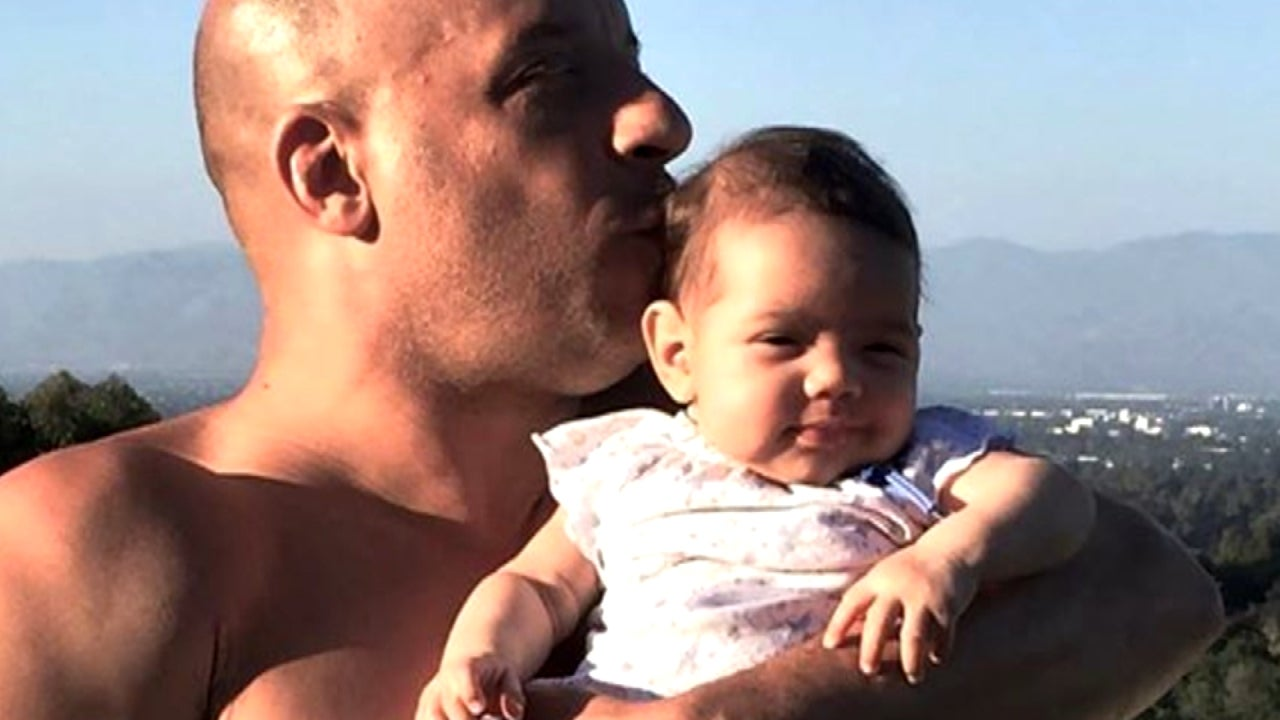 Vin diesel says missing his kids is the flip side of fame entertainment tonight