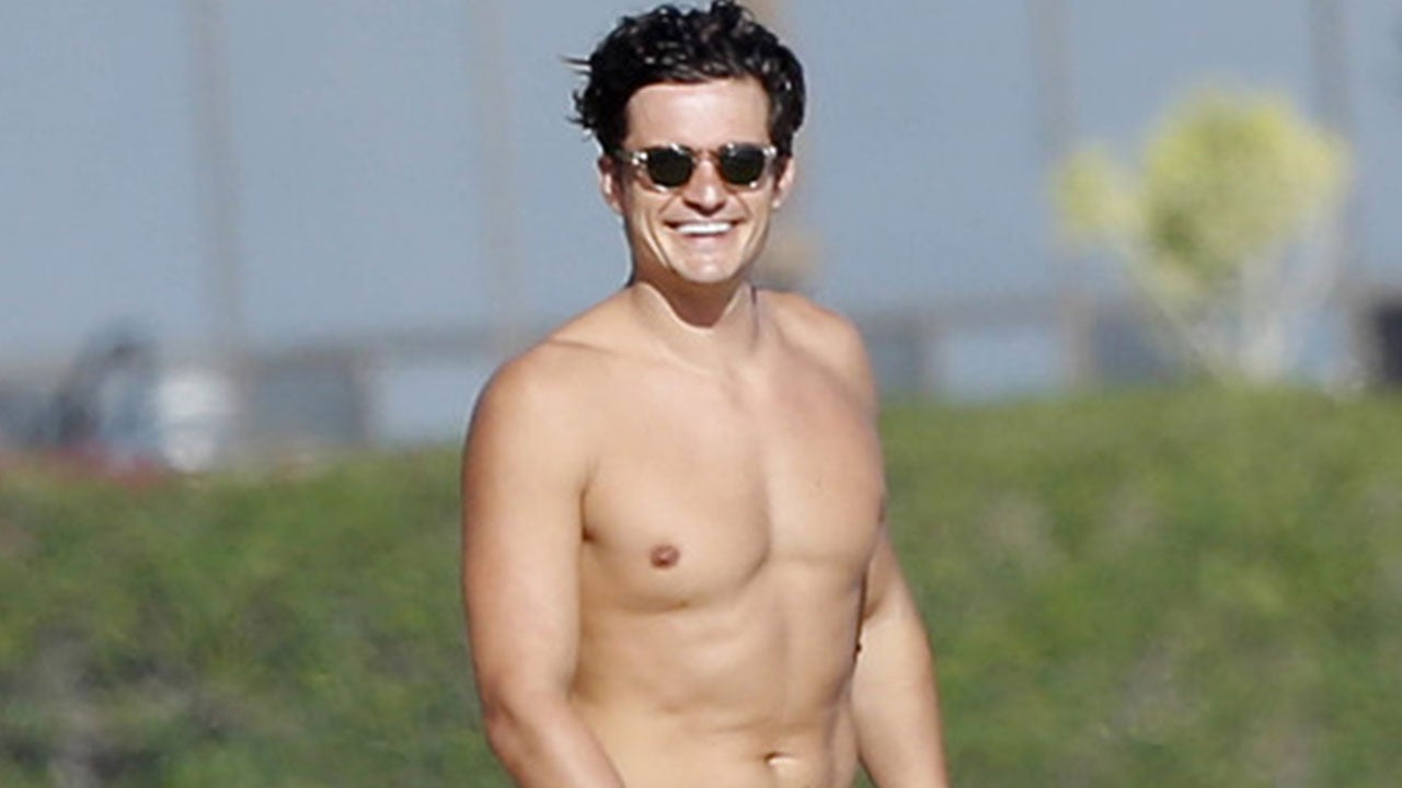 shirtless Orlando bloom