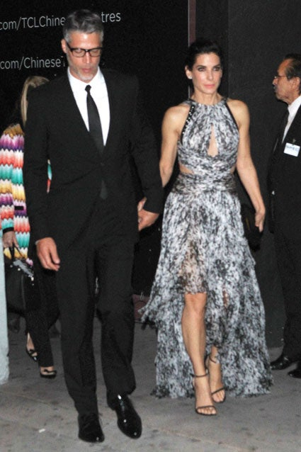 Sandra Bullock Spotted Hand-in-Hand With Boyfriend Bryan ... Sandra Bullock Boyfriend