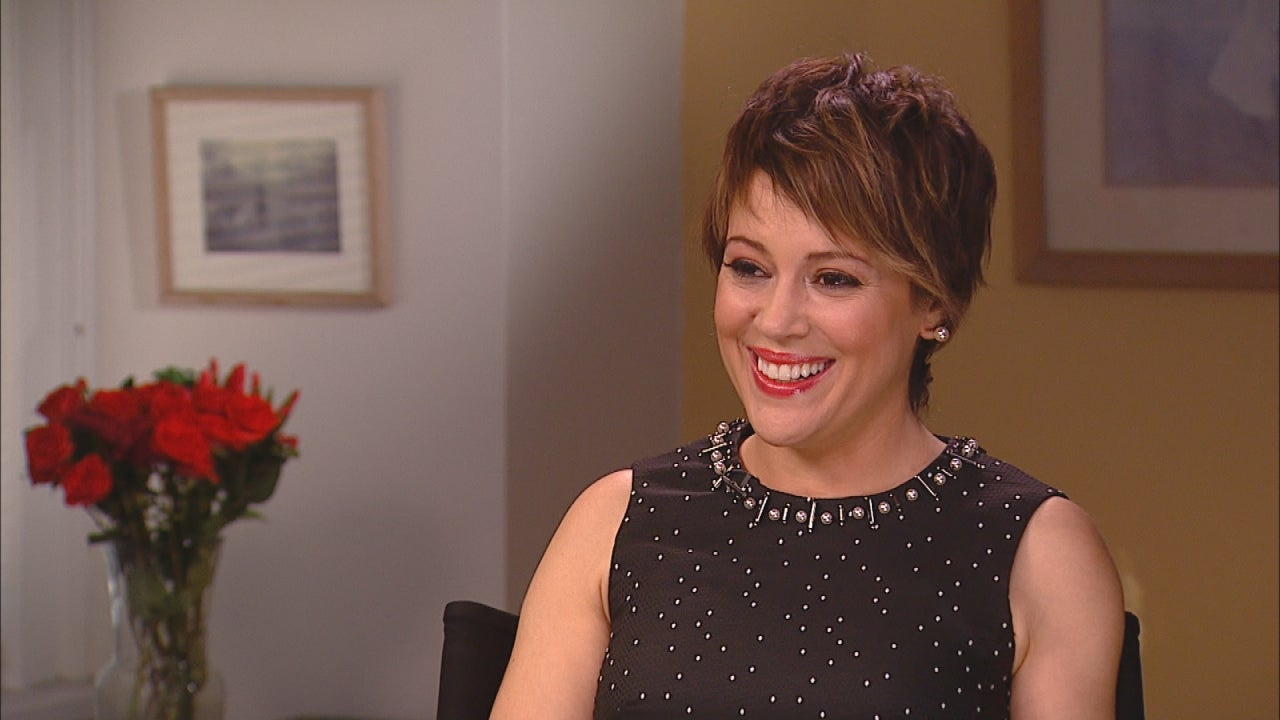 Alyssa Milano: Pregnant and Embracing Every Minute of It