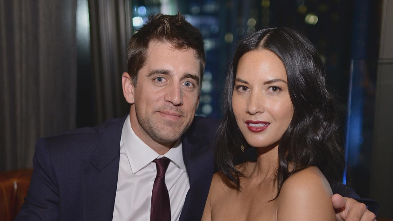 Olivia Munn's Mom Says Aaron Rodgers is a Big Deal on ...