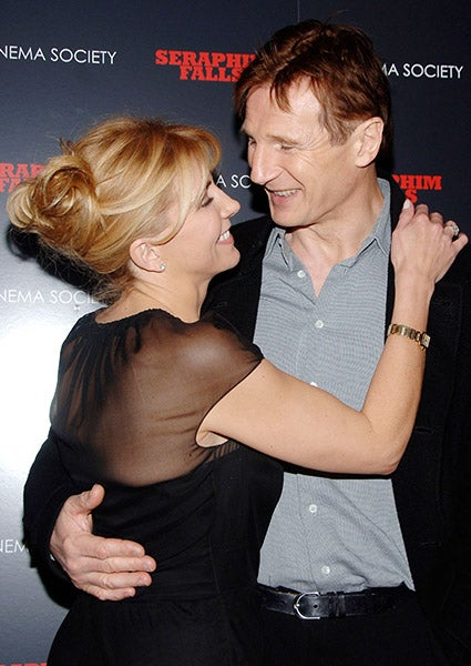 Natasha richardson liam neeson sons the for Natasha richardson liam neeson wedding