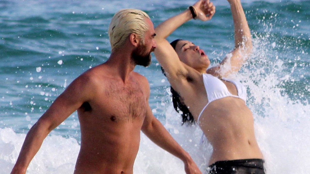 Michelle Rodriguez Flashes Her Hairy Armpits At The Beach