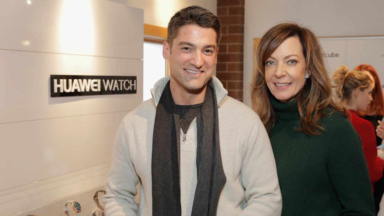 Image result for Allison Janney, 56, and Philip Joncas, 36 pic