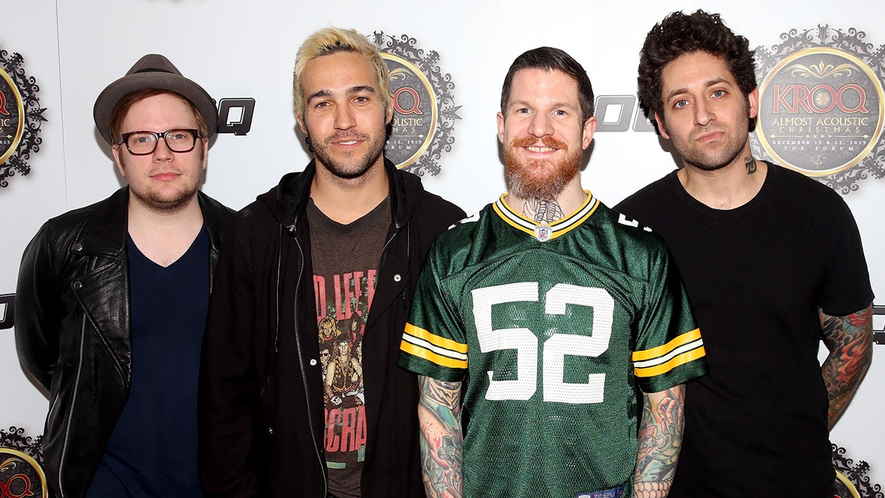 Exclusive fall out boy looks back on 15 years as a band exclusive fall out boy looks back on 15 years as a band entertainment tonight sciox Choice Image