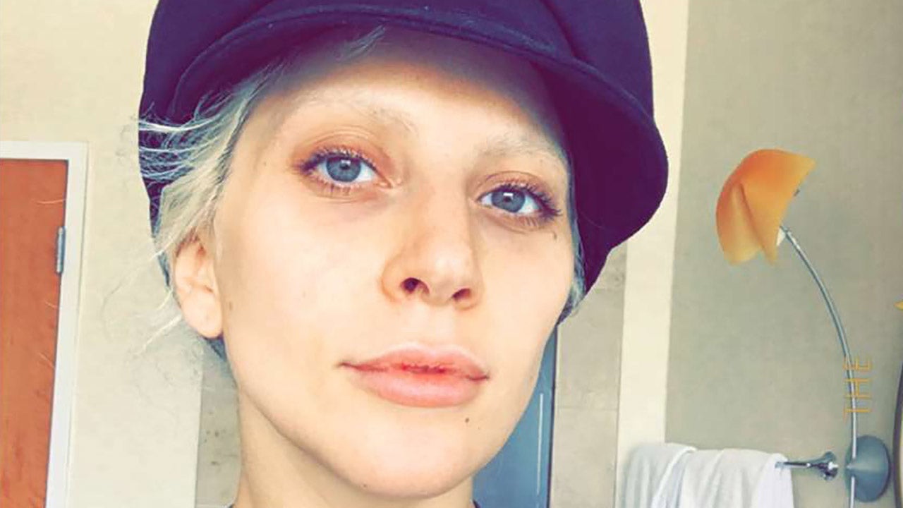 Lady Gaga Goes Makeup Free Before Her Big Oscars