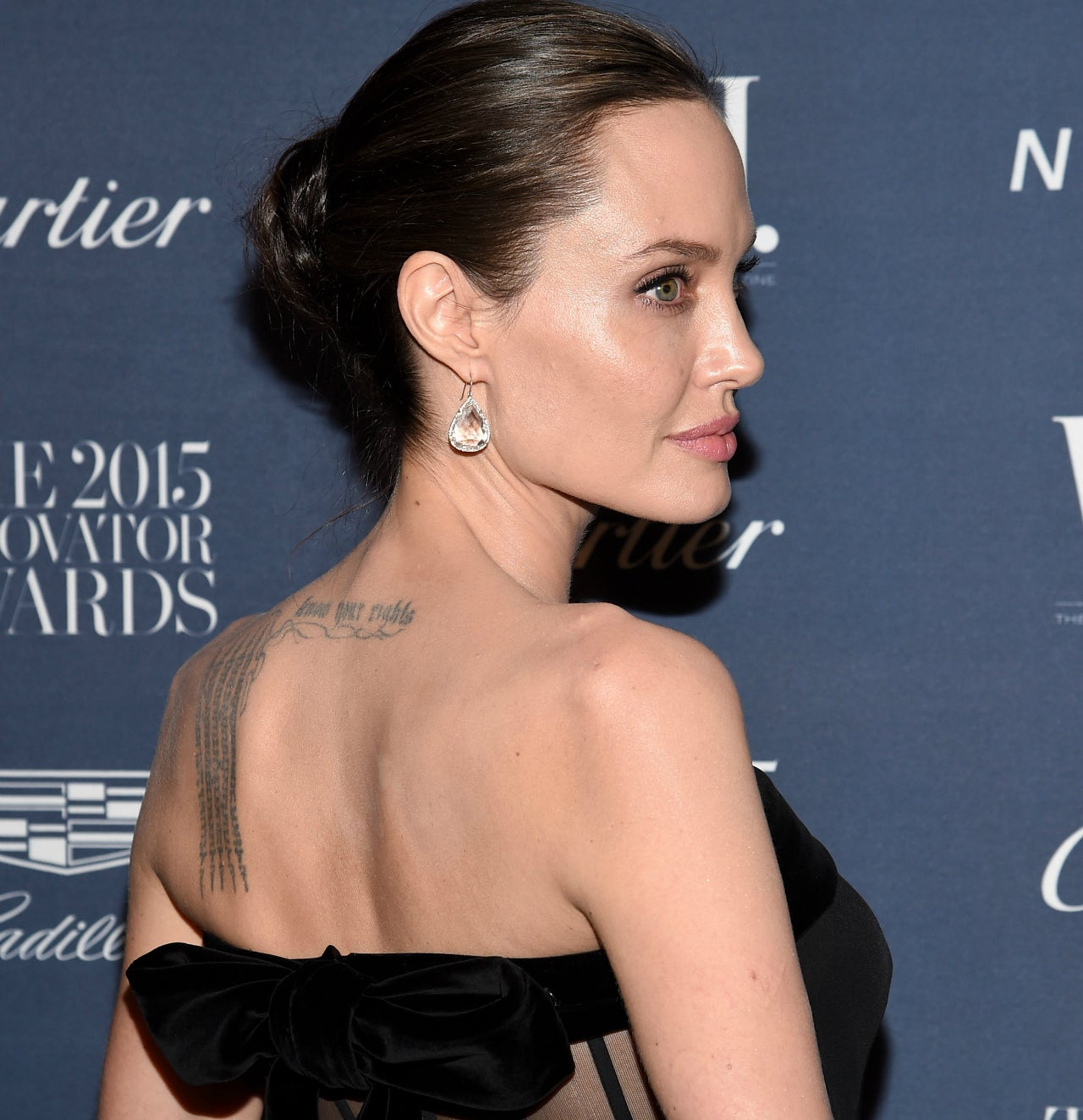 Angelina Jolie Debuts Three New Back Tattoos -- See the ...