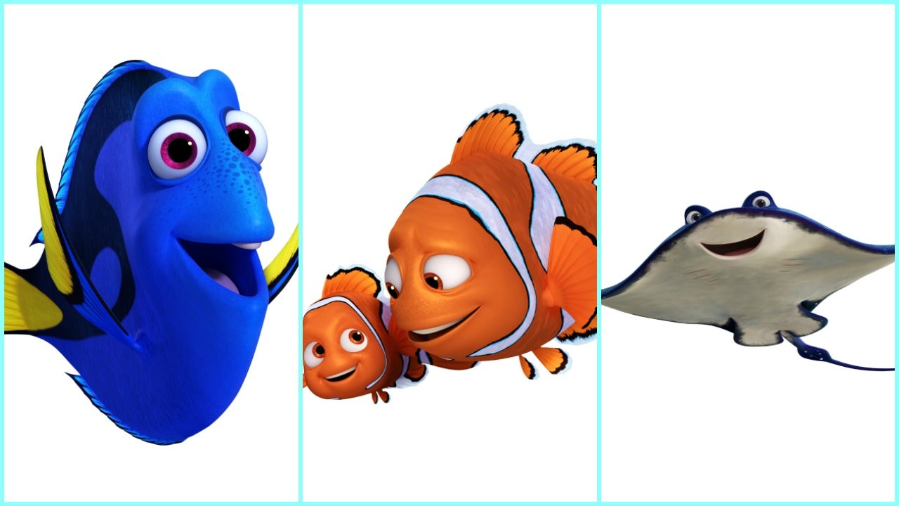 39 finding dory 39 cast and characters are announced and the. Black Bedroom Furniture Sets. Home Design Ideas