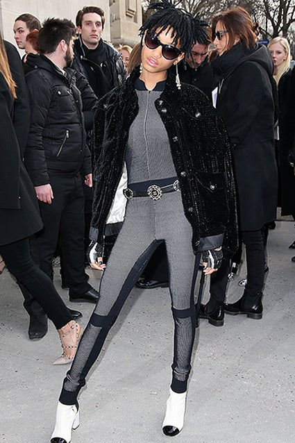 Willow Smith Named Chanel Ambassador Sports Futuristic Look During Paris Fashion Week