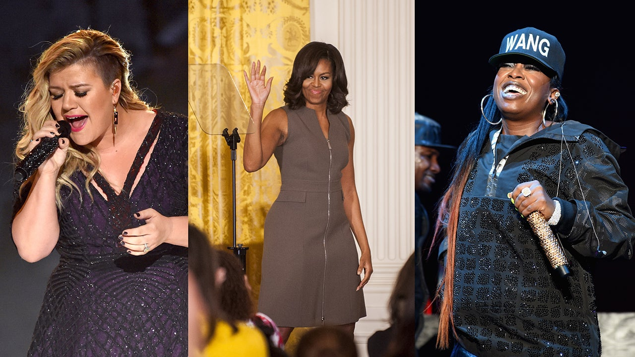 Is Missy Elliot Married Ideal michelle obama drops inspirational song 'this is for my girls