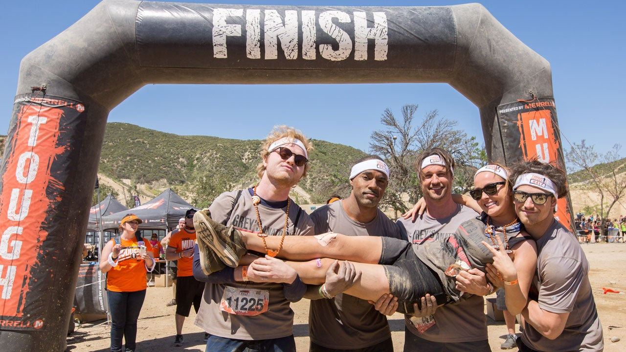 EXCLUSIVE: \'Grey\'s Anatomy\' Stars Compete in Tough Mudder for ...