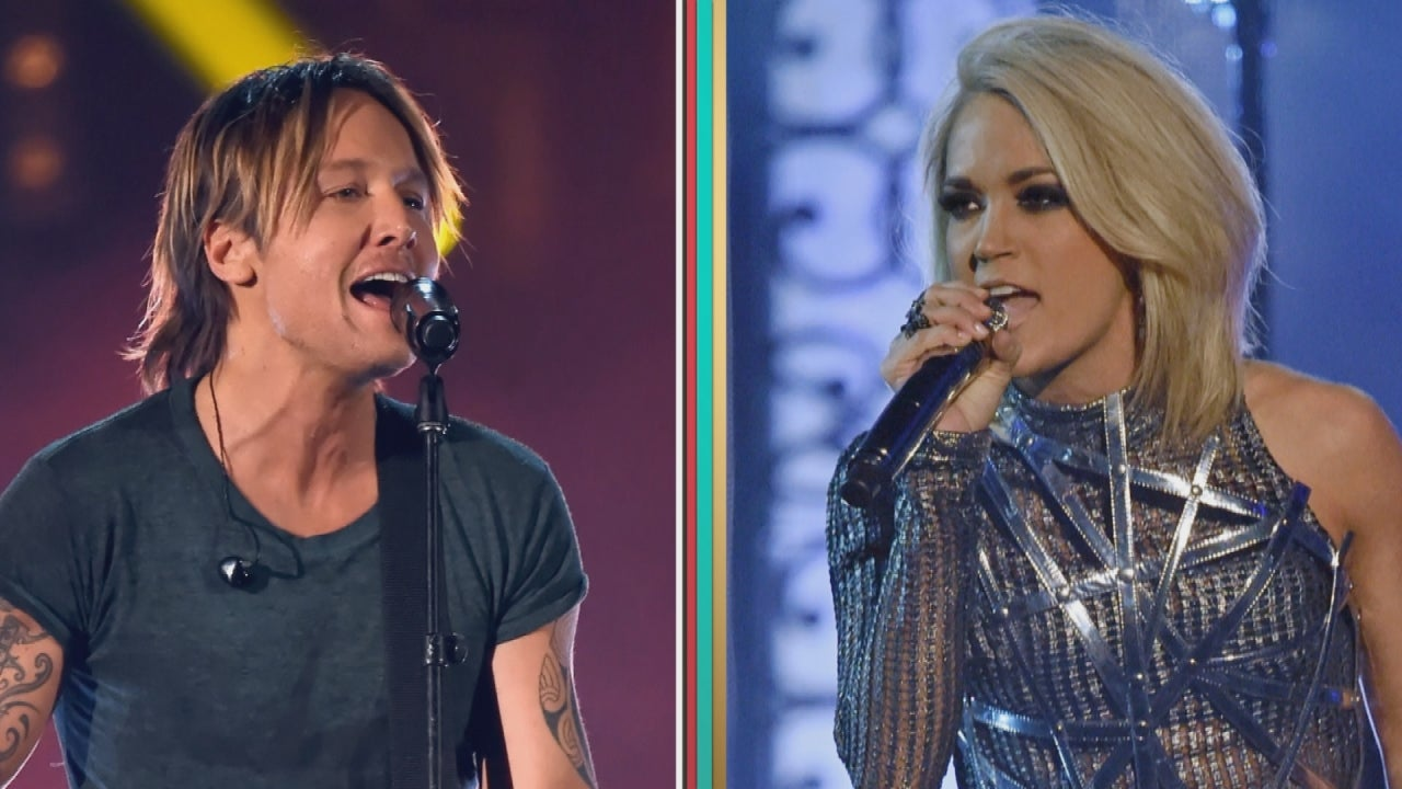 Exclusive keith urban reveals new details on his carrie for Carrie underwood and keith urban duet