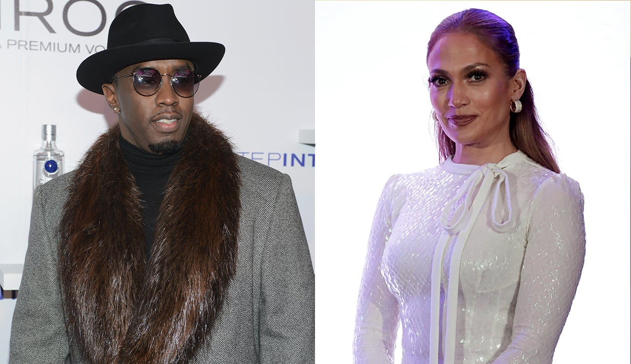 sean diddy combs forced to explain jennifer lopez reunion to his girlfriend cassie entertainment tonight