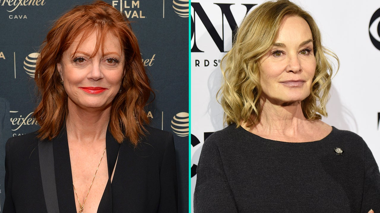 Susan Sarandon and Jessica Lange Are Starring in New FX Series 'Feud' From Ryan Murphy   Entertainment Tonight